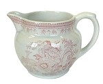 Pink Asiatic Pheasant Small Dutch Jug