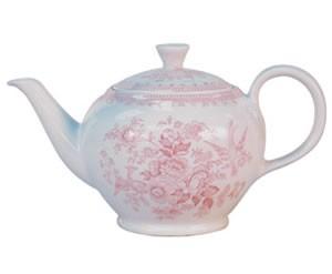 Pink Asiatic Pheasant Small Teapot