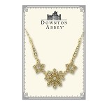 Downton Abbey® Gold Starburst Statement NecklaceY)