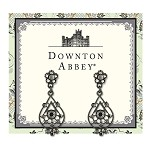 Downton Abbey® Jet Jeweled Radial Earrings