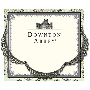 Downton Abbey® Jet Scalloped Necklace
