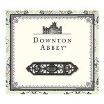 Downton Abbey® Jet Filigree Bar Brooch