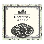 Downton Abbey® Jet Oval Lace Brooch