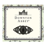 Downton Abbey® Jet French Scroll Brooch
