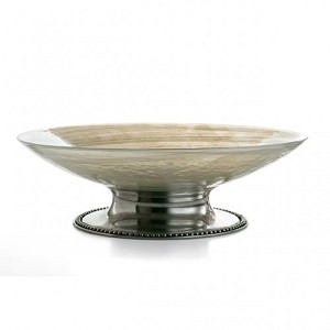 Arte Italica Splendore Large Footed Bowl
