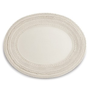 Finezza Cream Oval Platter