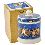 Owls Small Lidded Candle