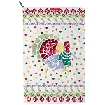Polka Turkey Tea Towel