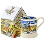 Year in the Country Winter Scene 1/2 Pint Mug Boxed