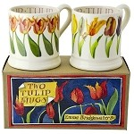 Flowers, Tulip set/2 mugs
