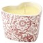 Pink Wallpaper  Heart Candle