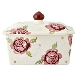 Rose & Bee Butter Dish