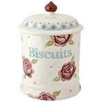 Rose & Bee 2 PInt Biscuit Storage Jar