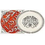 Black Toast Feasting Medium Platter Boxed