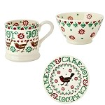 Emma Bridgewater Christmas Joy Breakfast Set