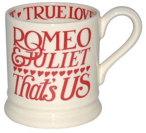 Romeo & Juliet 1/2 Pint Mug -RETIRED