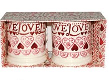 Sampler Boxed ½ Pint Mug Set of 2