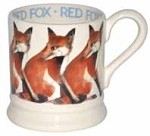Red Fox 1/2 Pint Mug