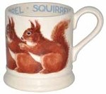 Red Squirrel ½ Pint Mug