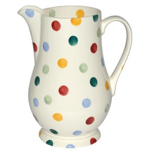 Polka Dot Water Jug