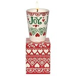 Joy Ceramic Beaker Candle