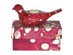 Lustre Dove Candle Boxed