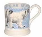 Polar Bear in a Snowstorm 1/2 PINT MUG
