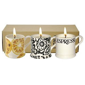 Toast and Marmalade Mini Mug Candle Set