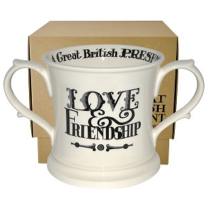 Black Toast and Marmalade 2 Handled Mug