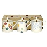 Polka Dot Mini Mug Candle Set