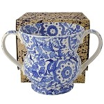 Blue Wallpaper 2 Handled Vase Boxed