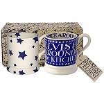 Blue Skies Boxed Mug Set