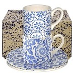 Blue Skies Espresso Cup & Saucer Boxed Set
