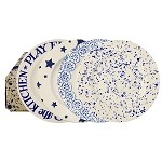 Blue Skies Set of 4 Lunch Plates