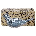Petrol Lustre Dove Candle Boxed