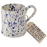 Blue Splatter 1/2 Pint Mug