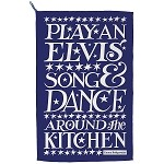 Starry Toast Elvis Tea Towel