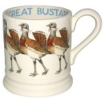 Birds, Great Bustard 1/2 Pint Mug