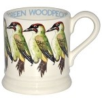 Green Woodpecker ½ Pint Mug