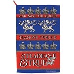 Diamond Jubilee Steadfast and True Tea Towel