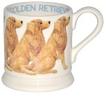 Golden Retriever 1/2 Pint Mug