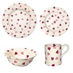 Emma Bridgewater Hearts Place Setting