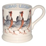 Legbar Hen 1/2 Pint Mug Retired