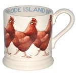 Rhode Island Hen 1/2 Pint Mug Retired