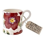 Christmas Rose 1/2 Pint Mug