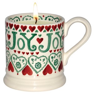 Joy Filled Candle Mug RETIRED