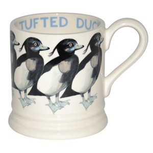 Tufted Duck 1/2 Pint Mug NEW