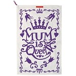 Mum is Queen Tea Towel