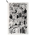 Wonderful London Tea Towel
