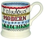 Modern Kitchen 1/2 Pint Mug REtired